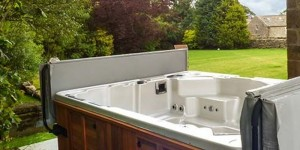 Luxury 10 seat hot tub